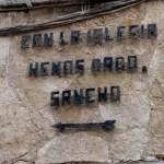 Fotos de Castilla La Mancha, textos cervantinos en El Toboso