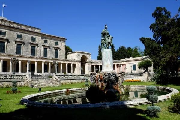 Fotos de Corfu en Grecia, Palacio San Miguel y San Jorge