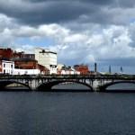 Fotos de Cork en Irlanda, puentes rio Lee