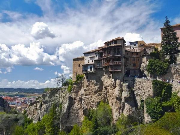 Fotos de Cuenca, las Casas Colgadas no colgantes