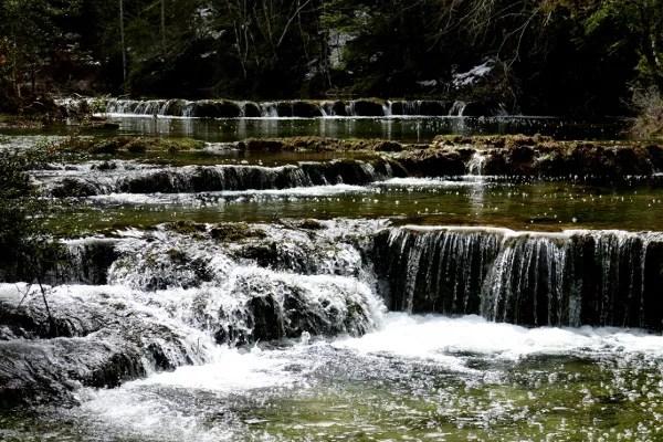 Fotos de Cuenca, saltos de agua El Hosquillo