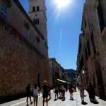 Fotos de Dubrovnik en Croacia, calle Stradun
