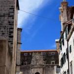 Fotos de Dubrovnik en Croacia, escaleras jesuitas
