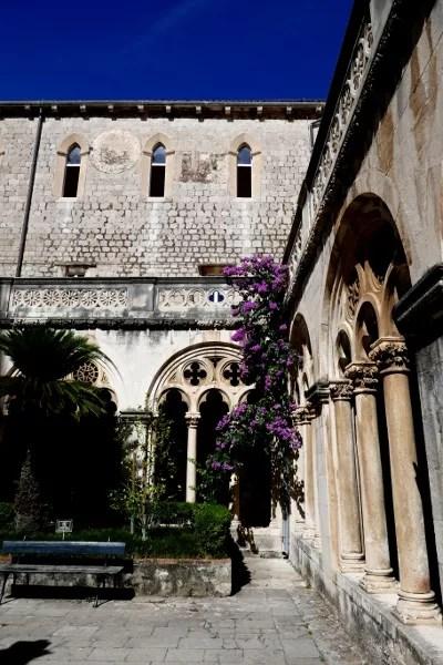 Fotos de Dubrovnik en Croacia, monasterio de los Dominicos