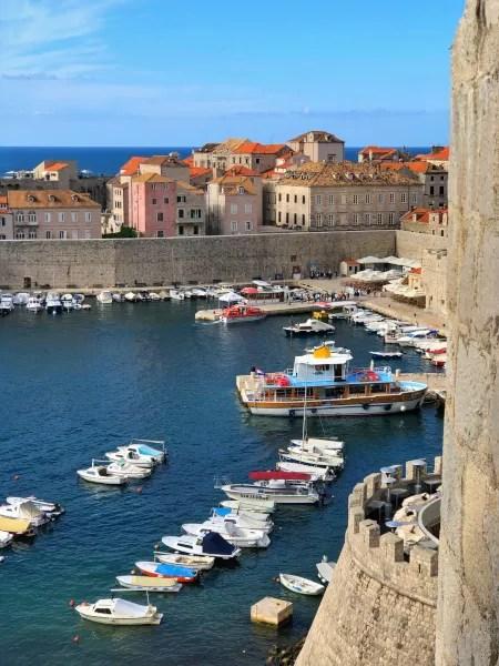 Fotos de Dubrovnik en Croacia, viejo puerto