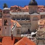 Fotos de Dubrovnik en Croacia, vista panoramica de la Ciudad Vieja vertical