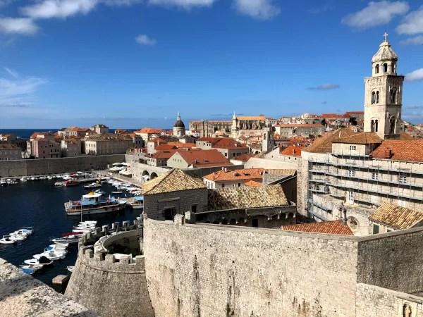 Fotos de Dubrovnik en Croacia, vistas desde la muralla