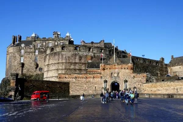 Fotos de Edimburgo en Escocia, Castle Rock
