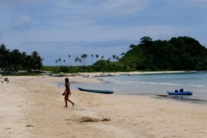 Fotos de El Nido en Filipinas, Nacpan Beach