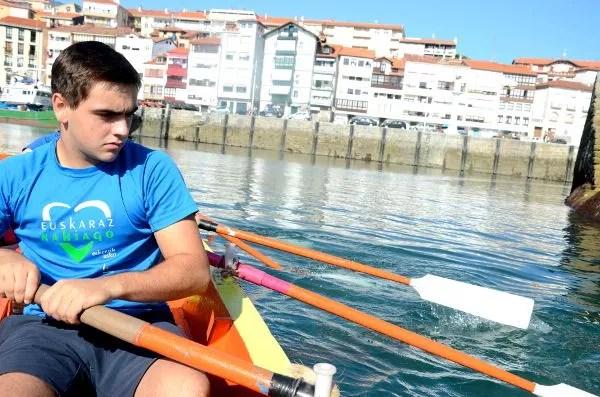 Fotos de Euskadi. Lekeitio, trainera
