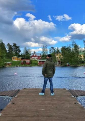 Fotos de Finlandia, Pau en Oravi
