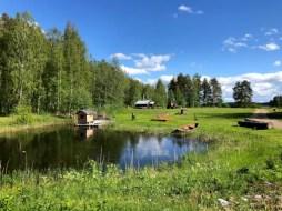 Fotos de Finlandia, exteriores del museo Lusto