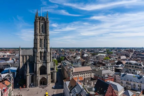 Fotos de Gante en Bélgica, Catedral de San Bavon