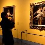 Fotos de Gante en Bélgica, mujeres barrocas en el MSK