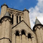 Fotos de Gante en Flandes, iglesia