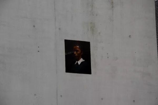 Fotos de Gante, ruta street art Michaël Borremans