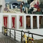 Fotos de Gante, ruta street art bici