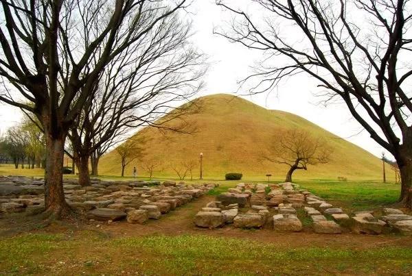 Fotos de Gyeongju, parque de los túmulos en Corea