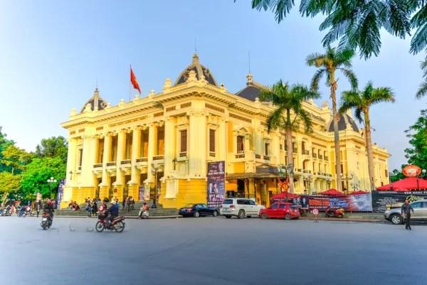 Fotos de Hanoi en Vietnam, Opera de Hanoi