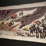 Fotos de Irlanda del Norte, tapiz Juego de Tronos Belfast