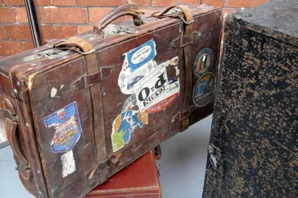 Fotos de Irlanda, maletas de la Cobh Heritage Centre
