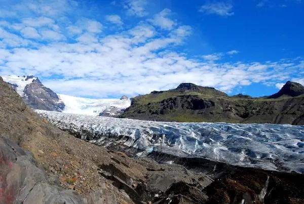 Fotos de Islandia, Svínafellsjökull