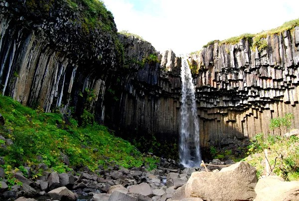Fotos de Islandia, Svartifoss