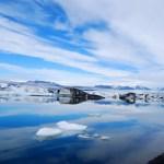 Fotos de Islandia, la laguna Jokulsarlon