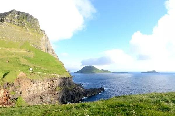 Fotos de Islas Feroe, paisajes de Gásadalur