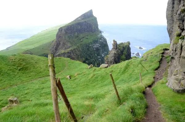 Fotos de Islas Feroe. Mykines,  sendero