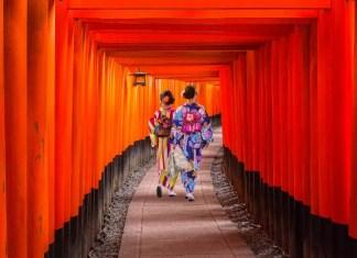 Fotos de Kioto en Japón, Fushimi Inari