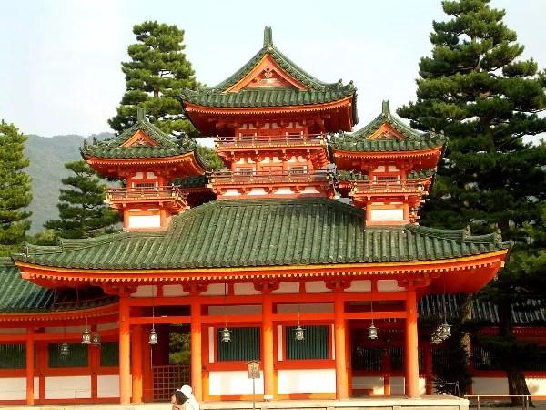 Fotos de Kioto en Japon, Heian Jingu