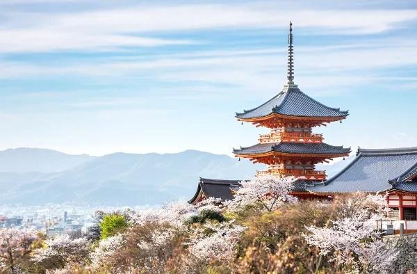 Fotos de Kioto en Japon, Kiyomizu-dera