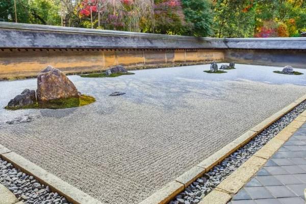 Fotos de Kioto en Japon, Ryoan-ji