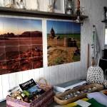 Fotos de La Haya, interior casa de las playas de Kijkduin