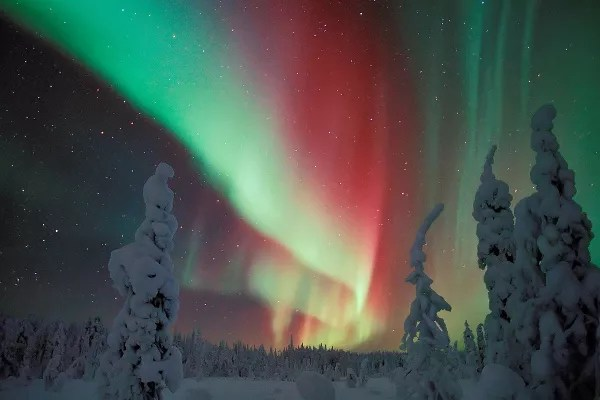 Fotos de Laponia Finlandesa, auroral boreal
