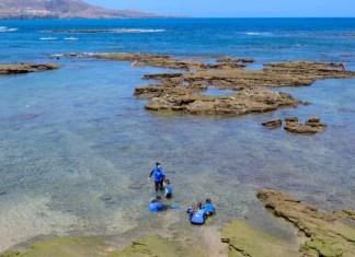 Fotos de Las Palmas de Gran Canaria, Snorkel Pau, Vero, Teo y Oriol