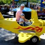 Fotos de Legoland Alemania, aviones de Lego