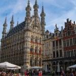 Fotos de Lovaina en Flandes, ayuntamiento gotico