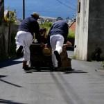 Fotos de Madeira, carros de cesto en Funchal