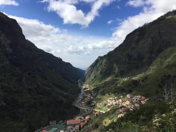 Fotos de Madeira en Portugal, Curral das Freiras