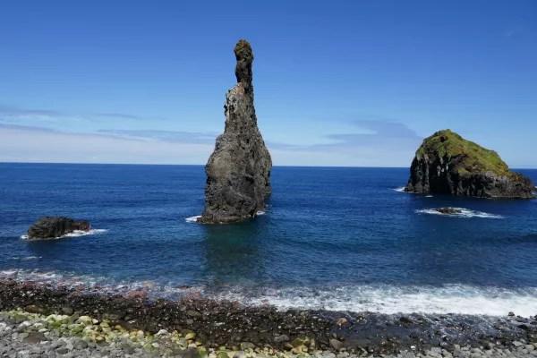 Fotos de Madeira en Portugal, Islotes de Ribeira Da Janela