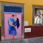 Fotos de Madeira, las Puertas pintadas de Funchal