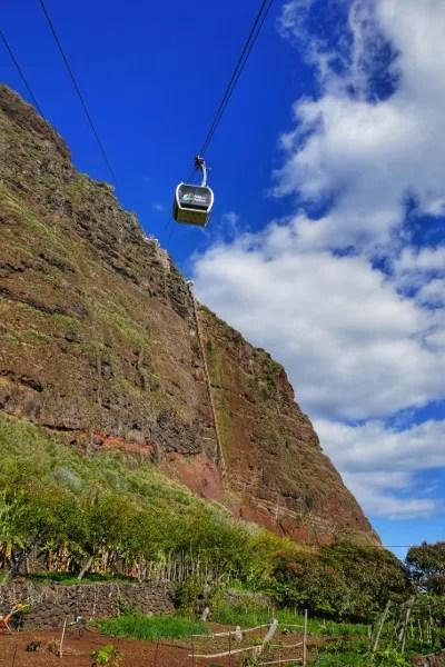 Fotos de Madeira, teleferico de Faja Dos Padres