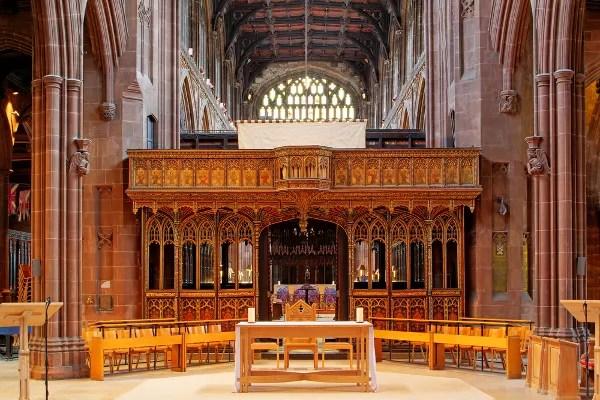 Fotos de Manchester, coro de la Catedral