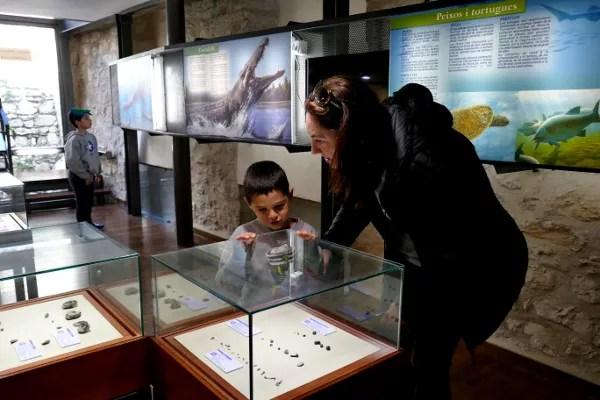 Fotos de Morella, Vero, Teo i Oriol Temps de Dinosaures