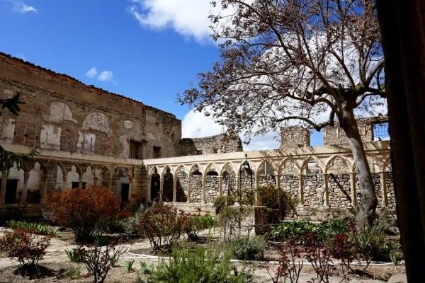 Fotos de Morella, claustro del convento