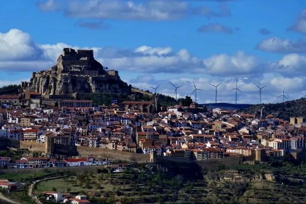Fotos de Morella, el castillo desde el mirador