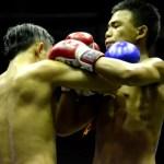 Fotos de Muai Thai en Bangkok, punetazos los dos