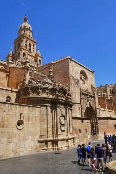 Fotos de Murcia, grupo en la Catedral